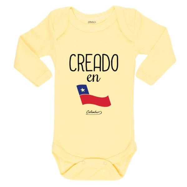 Ropa Bebe Body Calambur 100% algodón Moda Infantil Pilucho Creado En Chile
