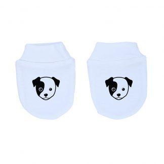 Mitones para recién nacido 100% algodón perrito