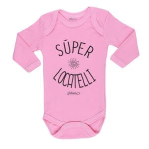 Ropa Bebe Body Calambur 100% algodón Moda Infantil Pilucho Súper Locatelli