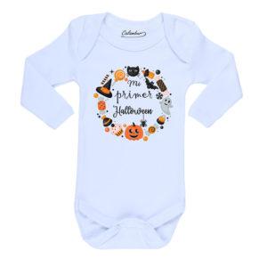 Ropa Bebe Body Calambur 100% algodón Moda Infantil Pilucho Mi Primer Halloween