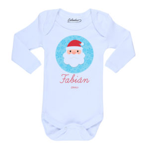 Ropa Bebe Body Calambur 100% algodón Moda Infantil Pilucho Viejito Pascuero Nombre Personalizado