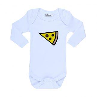 Ropa Bebe Body Calambur 100% algodón Moda Infantil Pilucho Pizza