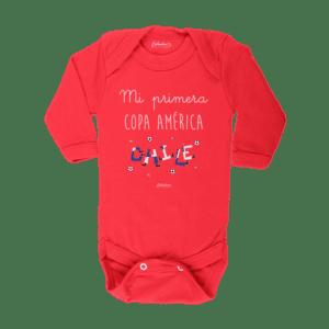 Ropa Bebe Body Calambur 100% algodón Moda Infantil Pilucho Mi Primera Copa América