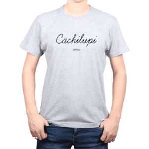 Polera Hombre Calambur 100% algodón Mensaje Divertido Estampado Cachilupi
