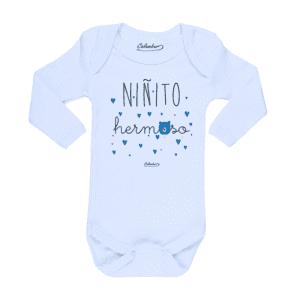 Ropa Bebe Body Calambur 100% algodón Moda Infantil Pilucho Niñito Hermoso