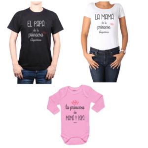 Conjunto Papá-Mamá-Bebé