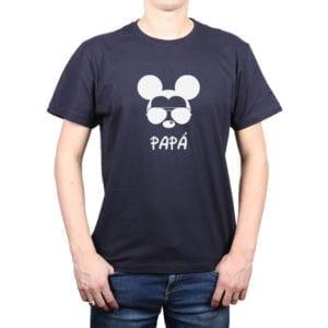 Polera Hombre Calambur 100% algodón diseño Mickey azul marino
