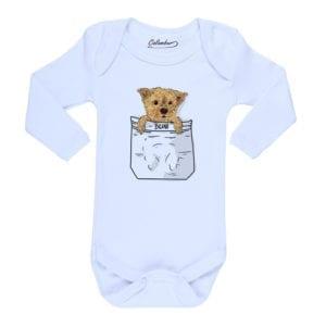 body bebe personalizado mascota ilustracion