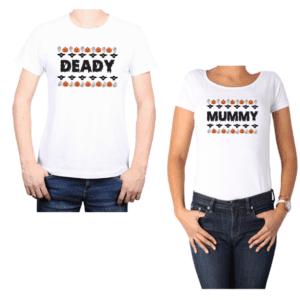 Conjunto Pareja Deady Mummy Halloween Calambur