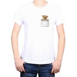 Polera Hombre Ilustración Exclusiva Mascota Calambur